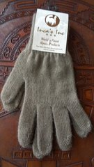 Adult Size, Baby Alpaca Gloves beige