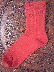 Alpaca Socks Red
