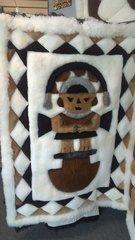 Alpaca Fur Skin Rug special designed
