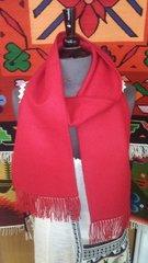 Alpaca Scarf, Red