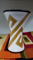 """Handcrafted Ceramic Vase 6.25"""""""