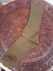 Alpaca Men's Brown Socks