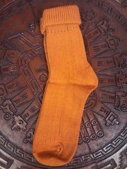 Socks 100% Alpaca Women's Gold
