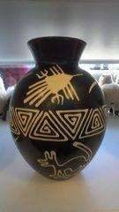 Hand Crafted Ceramic Vase Large Round