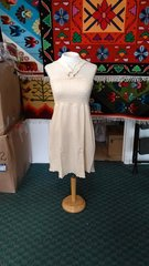 Pima Cotton Adult size Dress with halter top and string to tie back