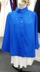 3 Button Short Cape Blue
