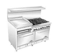 """60"""" Gas Range with 36"""" Griddle"""