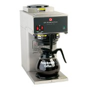 Coffee Brewer with Two Warmers