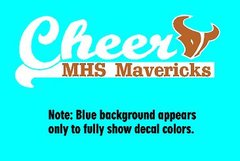 Mead Cheer Decal