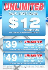 $12 National Coverage Weekly Plan
