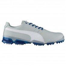 Puma TitanTour Ignite Mens Golf Shoes - Gray Violet White True Blue