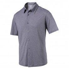 Puma Knit Golf Shirt - Peacoat