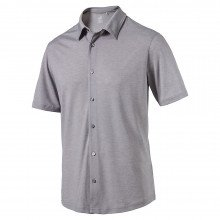 Puma Knit Golf Shirt - Quiet Shade