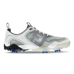 FootJoy Freestyle Mens Golf Shoes - White Light Gray Charcoal - #57330
