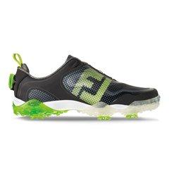 FootJoy Freestyle BOA Mens Golf Shoes - Black Lime Light Gray - #57335