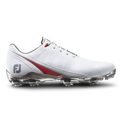 FootJoy DNA 2.0 Mens Golf Shoes - White Red - #53310