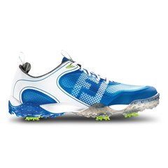 FootJoy Freestyle Mens Golf Shoes - White Electric Blue - #57340
