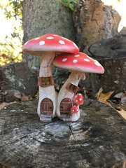 Red Amanita Fairy House