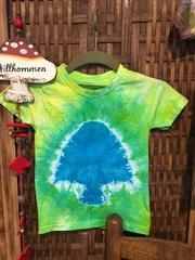 Kids 2-3T Tie-Dye Mushroom Tee