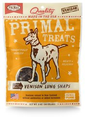 Primal Treats - Dry Roasted Buffalo Liver Snaps for Dogs