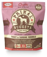 Primal Frozen Raw Turkey & Sardine - Canine