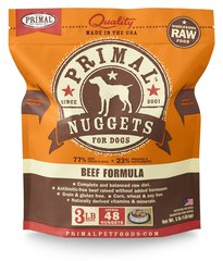 Primal Frozen Raw Beef - Canine