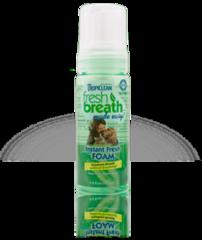 Tropiclean Fresh Breath Foam for Dogs & Cats