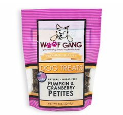 Woof Gang Private Label Pumpkin & Cranberry Petites