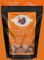 Fromm Dog Treats - Grain Free Chicken, Carrot, & Pea