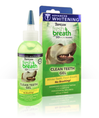Tropiclean Advanced Whitening Clean Teeth Gel - No Brushing for Dogs