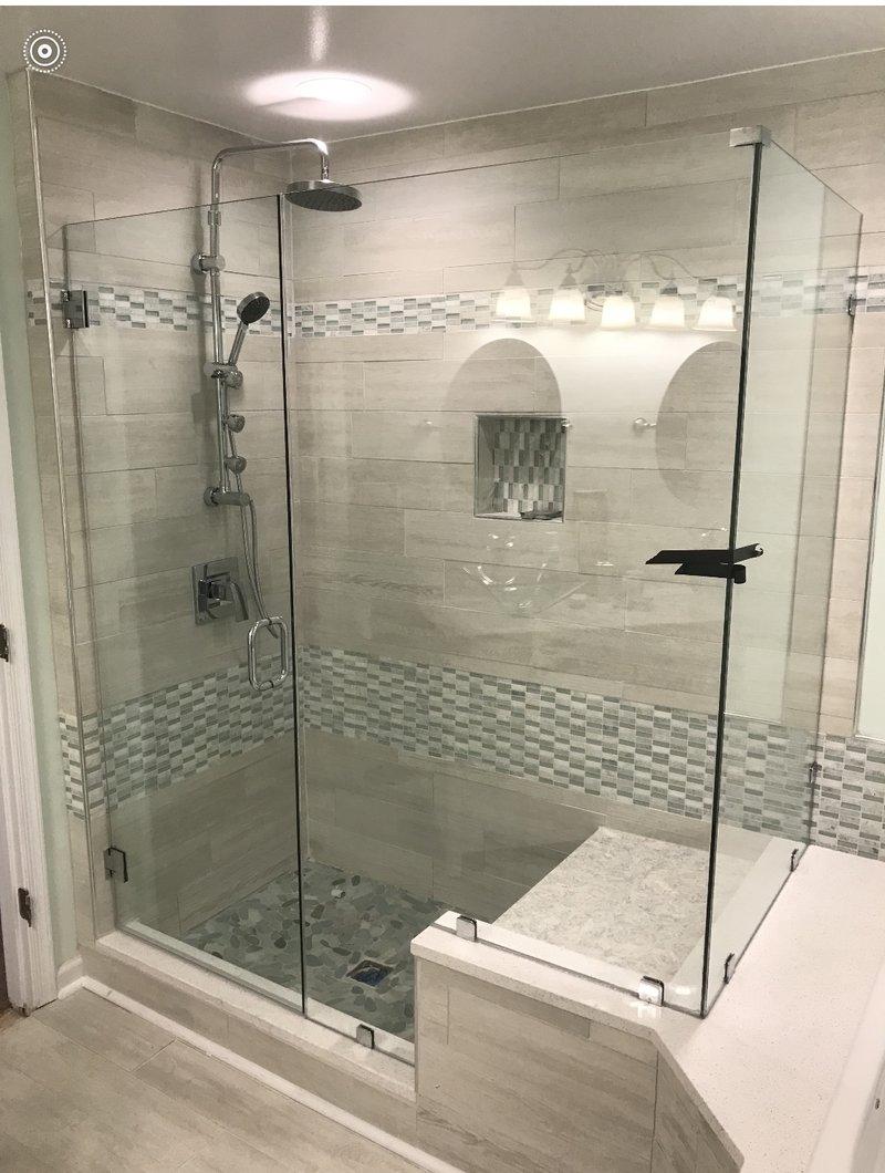 Custom Shower Enclosures Hodges Window And Glass Com
