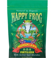 Happy Frog premium lawn fertilizer 8-2-6 4lb