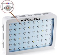King Plus 600w double chips led grow light