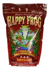 Happy Frog tomatoe and vegetable 7-4-5. 4lb