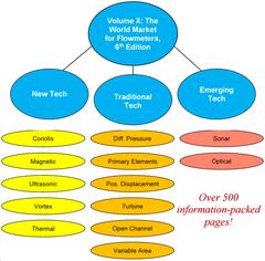 Volume X: The World Market for Flowmeters, 6th Edition Core Study (PDF File)