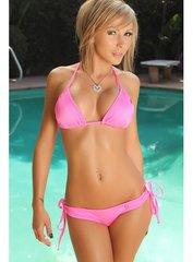 The Original Sexy Hot Pink Scrunch Bikini