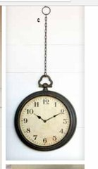 Hanging Pocker Watch Clock