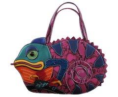 Chameleon Shaped Handbag