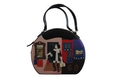 Retro shopper Oval Shaped handbag