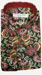 Farsim swirl Paisley shirt