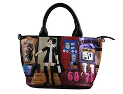 Retro Shopper theme handbag