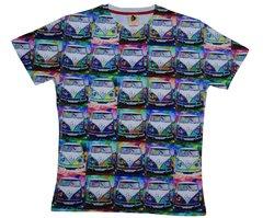 Men's camper van digital printed T-shirts