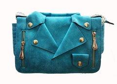 Turquoise Shirt Handbag