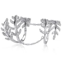 Leaf Sterling Ring