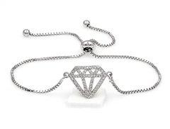 Diamond Adjustable Bracelet