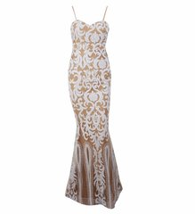 Sleeveless Fitted Maxi Gown