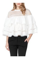 Belle Ruffle Top