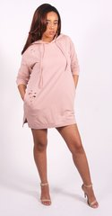 Sammie Hooded Sweathshirt Dress
