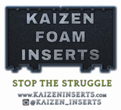 Kaizen Foam Inserts