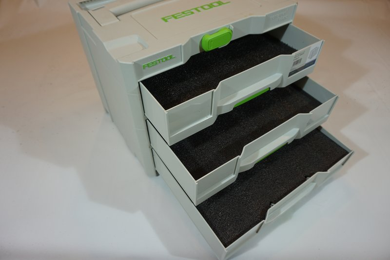 Drawer Inserts For Your Festool Combi Systainer